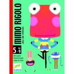 """Djeco kortų žaidimas """" Mimo rigolo"""""""