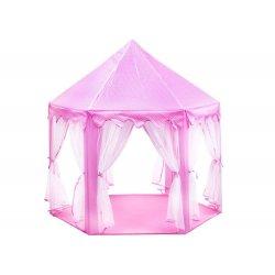 """Didelė vaikiška palapinė - """"Mažoji princesė"""" (mėlyna/rožinė)"""