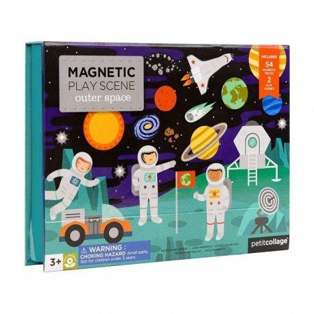 """Petit Collage magnetinis žaidimas """"Kosmose"""" 3+"""