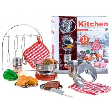 Vaikiškas virtuvės įrankių rinkinys