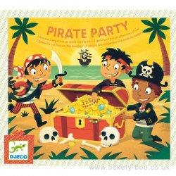 """Djeco stalo žaidimas - """"Piratų vakarėlis"""""""