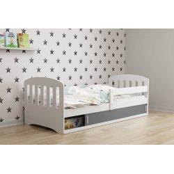 Viengulė vaikiška lova su daiktadėže