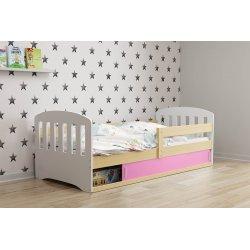 Klasikinė stilinga vaikiška lova su daiktadėže