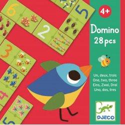 """Djeco Domino puzlė """"Vienas, du, trys"""""""