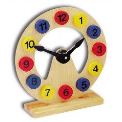 Medinis pastatomas laikrodis, 3+