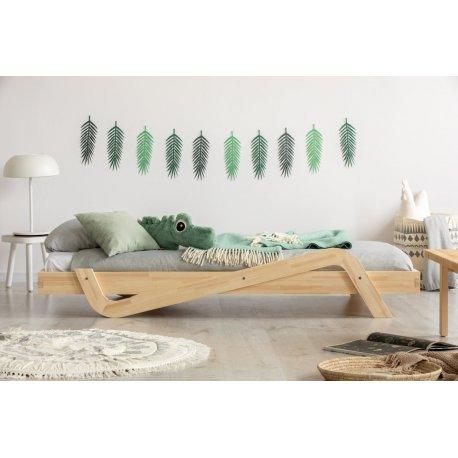 """Unikali viengulė vaikiška lova - """"ZigZag"""""""