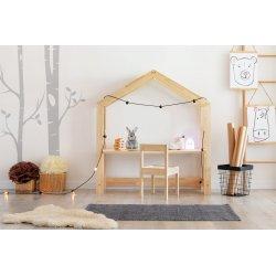 Augantis vaikiškas stalas - namas