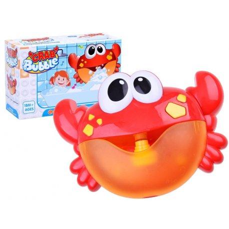 """Raudonas vonios žaislas - """"Krabas"""""""