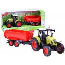 Vaikiškas traktorius su priekaba