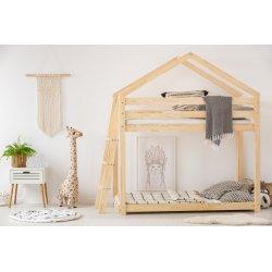 Dviaukštė vaikiška lova - namelis