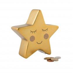 """Vaikiška taupyklė """"Auksinė žvaigždelė"""""""