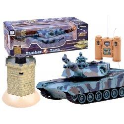 Radijo bangomis valdomas tankas su bokšteliu