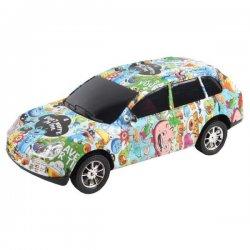 Vaikiška mašinėlė - spalvingas automobilis
