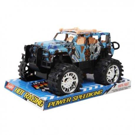 Vaikiška mašinėlė - džipas