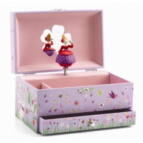"""Djeco muzikinė papuošalų dėžutė """"Balerina"""""""