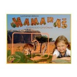 """Lavinamoji dėlionė """"Mama ir aš. Pasaulio gyvūnai"""" 2+"""