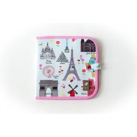 """JAQ JAQ Bird spalvinimo knygelė """"Paryžius"""""""