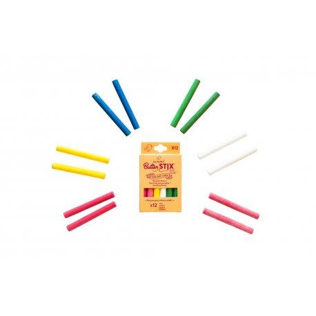 Butterstix spalvotų kreidelių rinkinys 12vnt