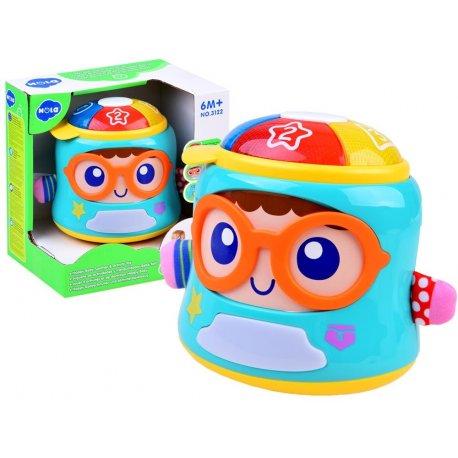 Interaktyvus muzikinis žaisliukas - dėžutė