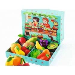 """Djeco rinkinys """"Vaisiai ir daržovės"""""""