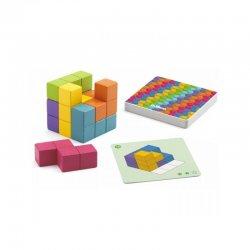 """Djeco lavinamasis žaidimas """"Cubissimo"""" 7+"""