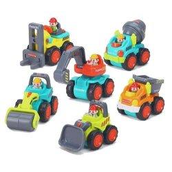 Įvairių mašinėlių - sunkvežimių modeliukai