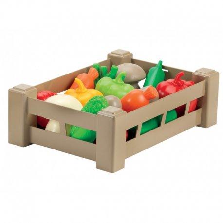 Daržovių rinkinys dėžutėje
