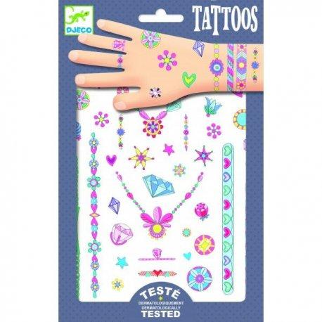 Djeco laikinos tatuiruotės 3+
