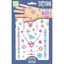 """Djeco laikinos tatuiruotės """"Papuošalai"""" 3+"""