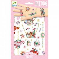 """Djeco Laikinos tatuiruotės """"Fiona"""""""