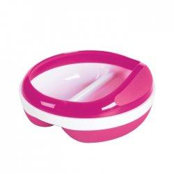 OXO rožinis dubenėlis su papildomu žiedu
