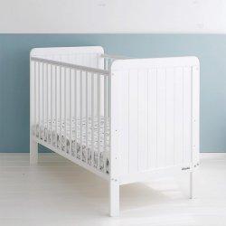 "Balta kūdikių lova - ""Country Cot"" 120x60 cm"