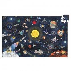 """Djeco pažinimo dėlionė """"Kosmosas"""" 6+"""