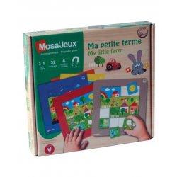"""Magnetinė mozaika """"Mano ferma"""" 3+"""