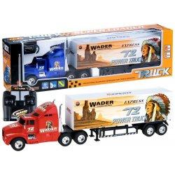 RC sunkvežimis su priekaba