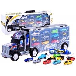 Didelis sunkvežimio rinkinys su mašinėlėmis
