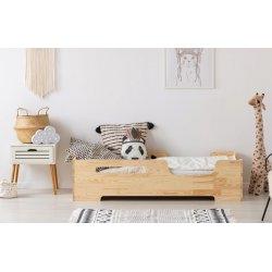 Natūralios medienos viengulė lovytė