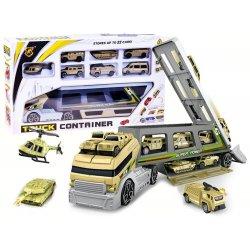 Kariuomenės sunkvežimis su 8 mašinėlėmis