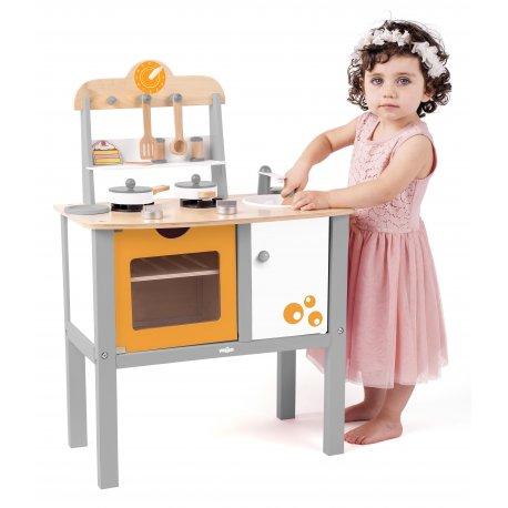 """Medinė virtuvėlės su priedais """"Buona Cucina"""""""