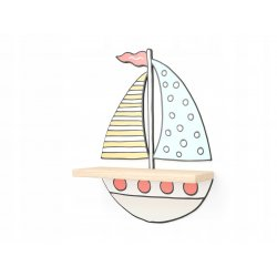 "Medinė lentyna - ""Laivas"""