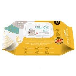 K-MOM organiškos drėgnos servetėlės (100 vnt)