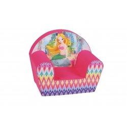 """Minkštas rožinis fotelis - """"Mylinčios lamos"""""""