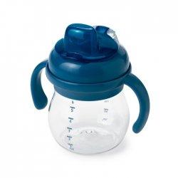 OXO buteliukas su rankenomis - mėlynas 4 mėn +