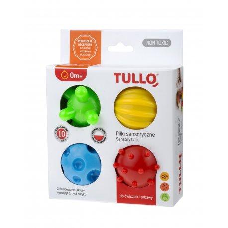 Sensoriniai kamuoliukai Tullo, 4 vnt.