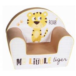 """Minkštas vaikiškas foteliukas """"Mano tigras"""""""