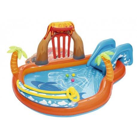 Vaikiškas baseinas su nusileidimu