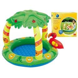 """Vaikiškas baseinas su stogeliu """"Džiunglės"""""""