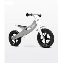 """Pilkas medinis balansinis dviratukas """"Velo"""""""