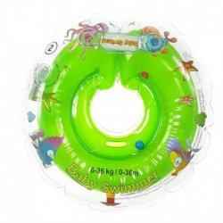 Žalias plaukimo ratas kūdikiams 6-36 kg.
