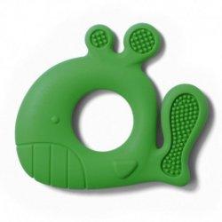 """Žalias silikoninis kramtukas - """"Banginis"""""""
